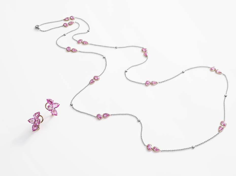 william and son_pink sapphires chain and earrings.jpg