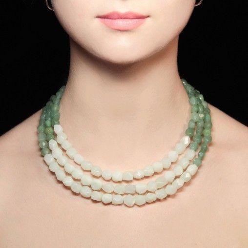 Авторские украшения из камней - фото