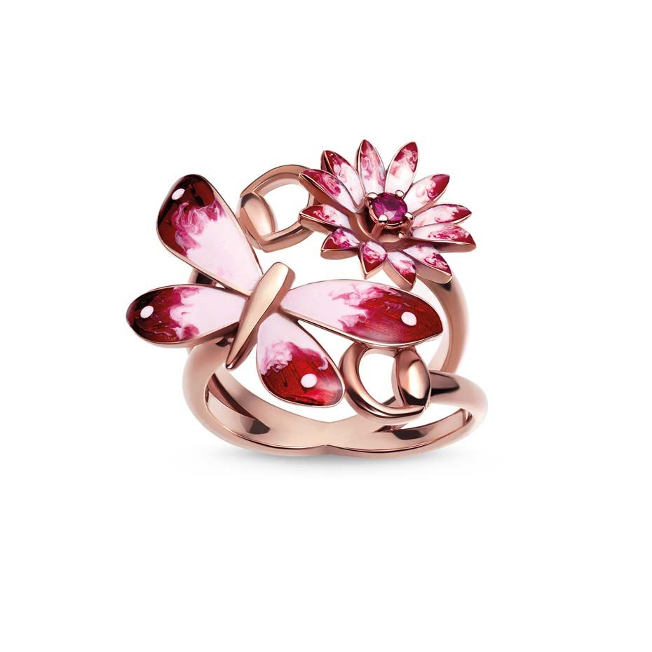 Butterfly jewellery_Basel_Gucci_Red pink Buttefly ring.jpg